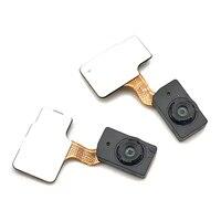 1 pçs botão de casa impressão digital toque id sensor cabo flex fita para huawei p30 pro peças reposição
