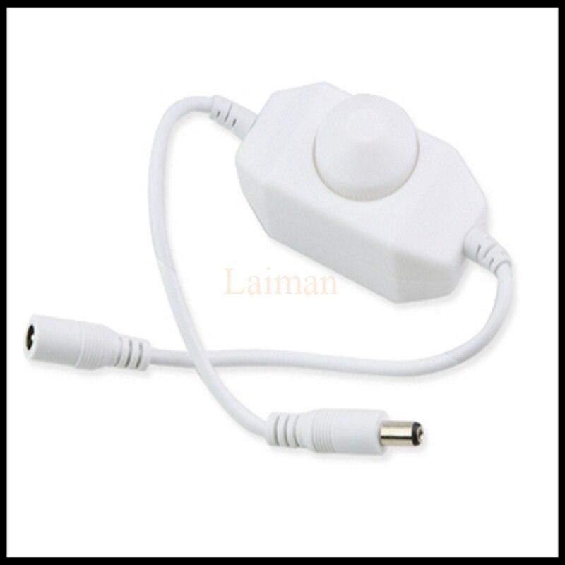 Tireless 1pcs Mini 12-24v Led Brightness Adjust Switch Dimmer Controller For 3014 2835 5050 5630 Single Color Led Strip Light White/black Rich In Poetic And Pictorial Splendor Lights & Lighting