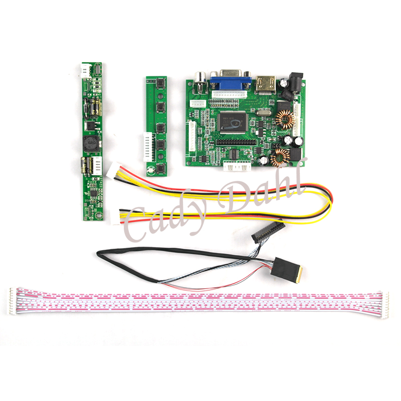 US $24 29 10% OFF|HDMI VGA Audio LCD Controller Board+Backlight  Inverter+30Pins Cable for Ipad 2 1024X768 9 7