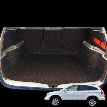 fiber leather car trunk mat for honda CRV CR-V 2006 2007 2008 2009 2010 2011 2012 car accessories