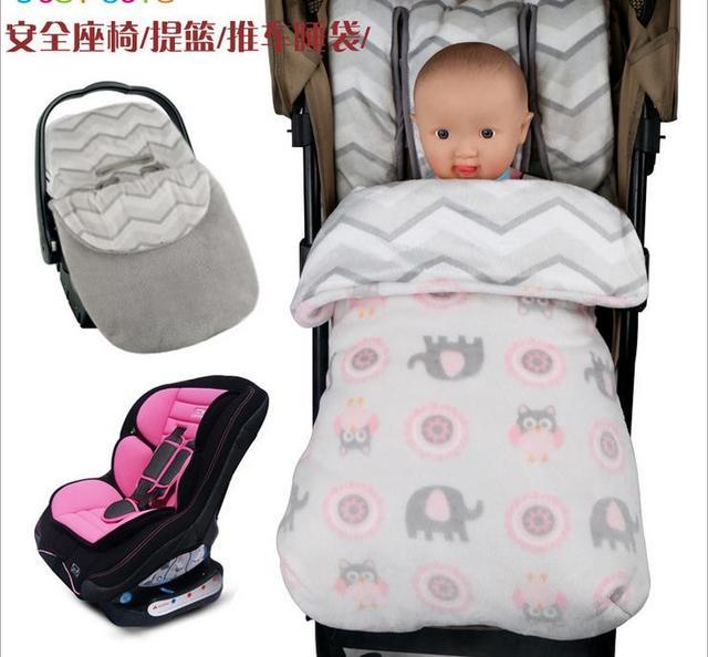 Baby Pram Sleeping Bags Kids Stroller Sleeping Sack Toddler Cartoon