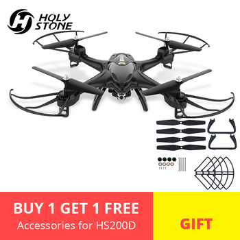 Holy Stone HS200D RC Drone 720P Wifi HD Selfie Camera FPV Drone 120 degree 3D Flips RTF Altitude Hold RC Quadcopter Quadrocopter