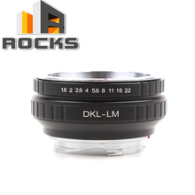 Lens adaptörü Takım Elbise Için Voigtlander Retina DKL Lens Leica M Kamera M9, M P, M3, M5, m7, M8, M2, M4, M4 2, M4 P, M6, M (Tip 262)