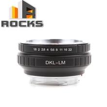 عدسة محول دعوى ل voigtlander dkl الشبكية عدسة ل ايكا m كاميرا m9 ، M P ، m3 ، m5 ، m7 ، m8 ، m2 ، m4 ، M4 2 ، M4 P ، m6 ، م (الطباع 262)