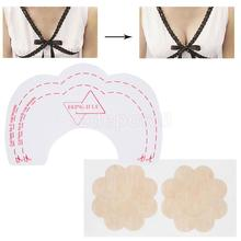 6x Breast Lift Up Bra Invisible Tape Boob Enhancer+Nipple Cover Pad Sticker