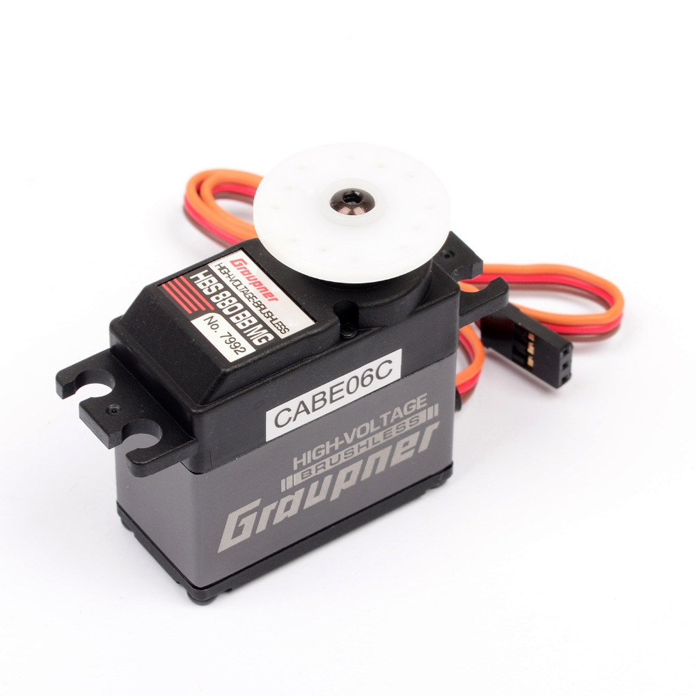Graupner HBS 880 BBMG High-Speed 20mm HV BL Digital Servo For Robot RC Boat Car Airplane Heli 70g graupner des 488 bbmg speed 11 5mm digital servo for futaba jr car rc model helicopter boat free shipping