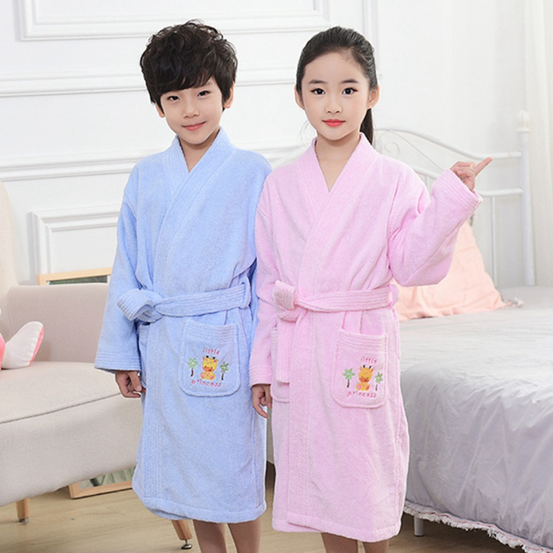 Selfless Childrens Bathrobes Kids Kimono Pajamas Child Boys Fleece Warm Bathrobes Nightgowns Clothing Set Cartoon Sleepwear 2-10year Men's Sleep & Lounge