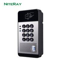 2018 новая система контроля доступа к двери RFID VoIP дверной звонок Аудио Телефон