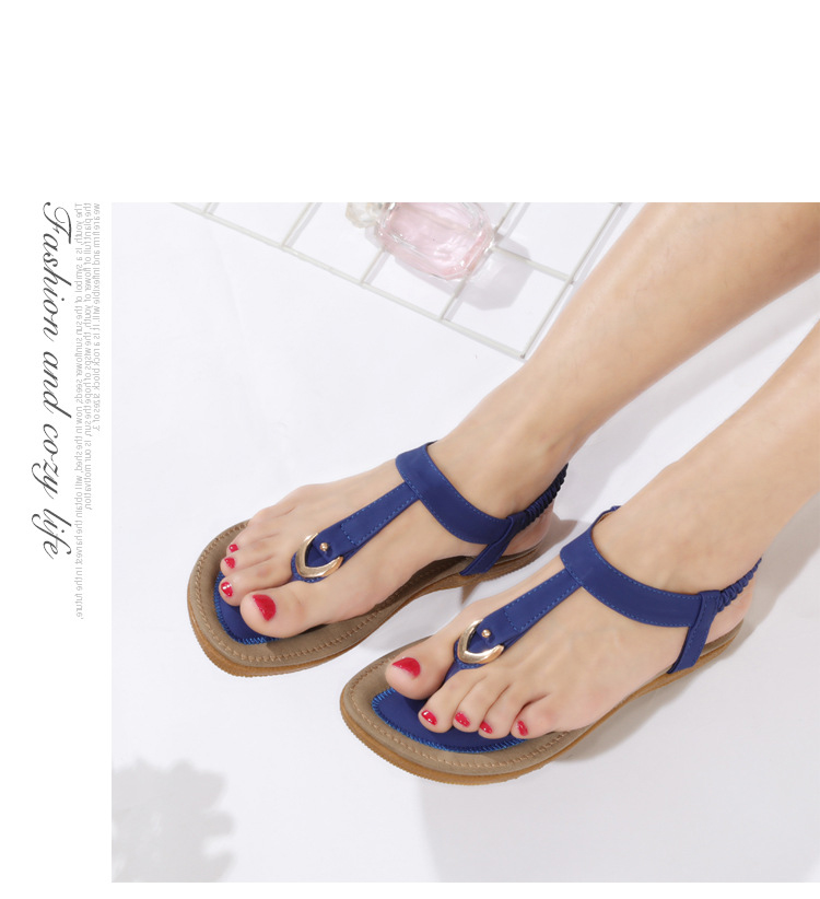 HTB1grrUCQSWBuNjSszdq6zeSpXah BEYARNE size 35-42 new women sandal flat heel sandalias femininas summer casual single shoes woman soft bottom slippers sandals