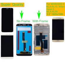10Pcs For Huawei MAIMANG 5 LCD Head MLA-AL00 MLA-AL10 MLA-L01 Milan Display Touch Screen Digitizer Assembly With Frame
