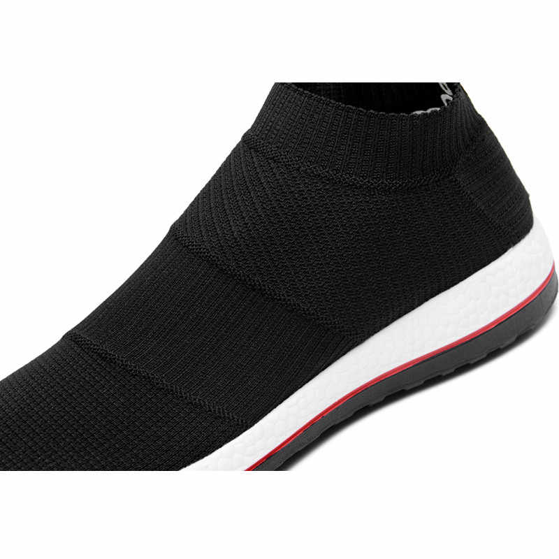 Superstar satış bahar ve yaz örgü erkek ayakkabısı loafer'lar 2020 nefes marka rahat açık moda sıcak yetişkin erkek spor ayakkabı