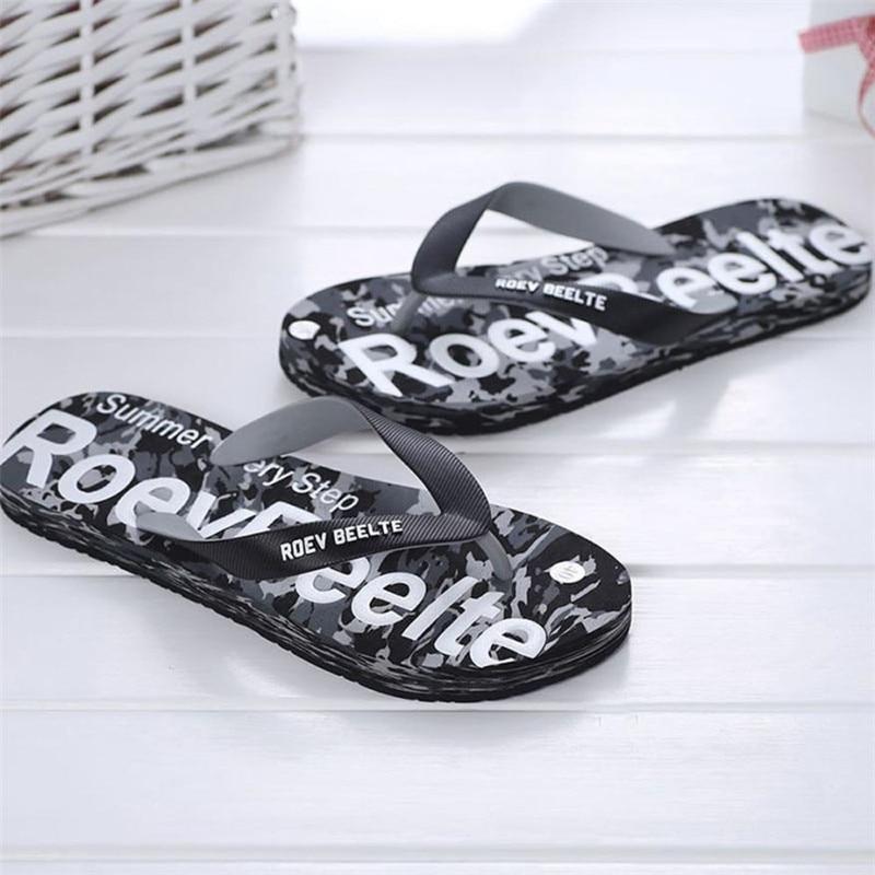 Летний Для мужчин Камуфляжная обувь Сандалии для девочек Мужской тапочки помещении или на открытом воздухе Сланцы Повседневное мужская пляжная обувь Размер 40-44