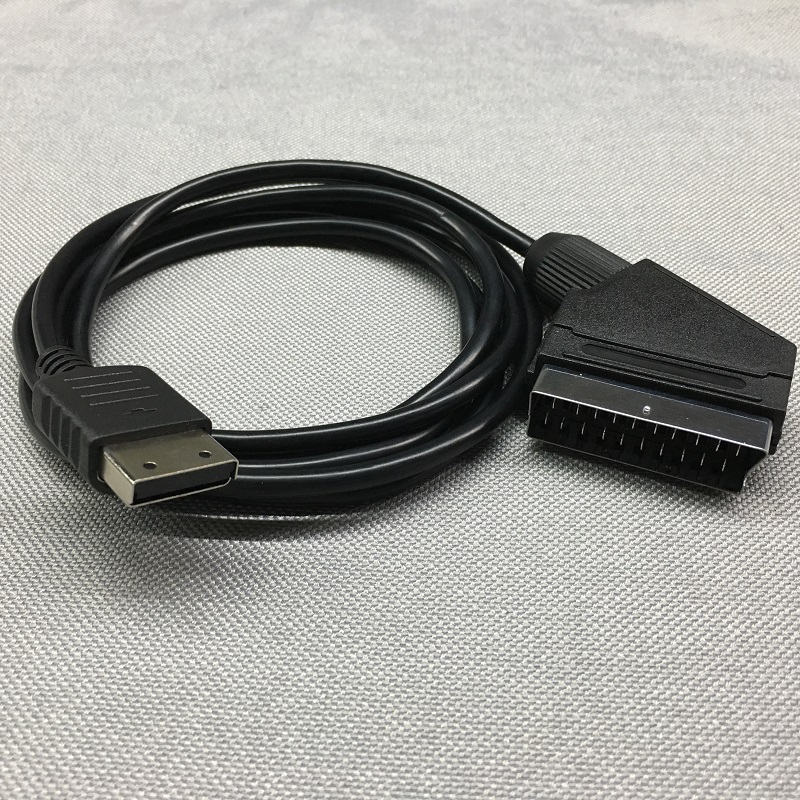 FZQWEG RGB Scart Cable Lead TV Wire for SEGA DREAMCAST Consoles