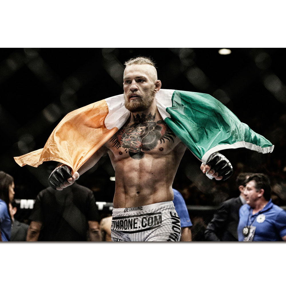 "Conor McGregor poster wall art home decoration photo print 24/"" x 24/"" inches"
