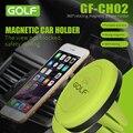 Montaje magnético reforzado coche air vent mount smartphone holder soporte de la horquilla para el iphone 6 6 s samsung s6 android teléfonos móviles más