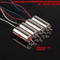 4pcs/Lot 100% Original Motors Set for Hubsan X4 H107D H107C H107-A23 RC Quadcopter Drones Counter-Clockwise Clockwise 8*20mm