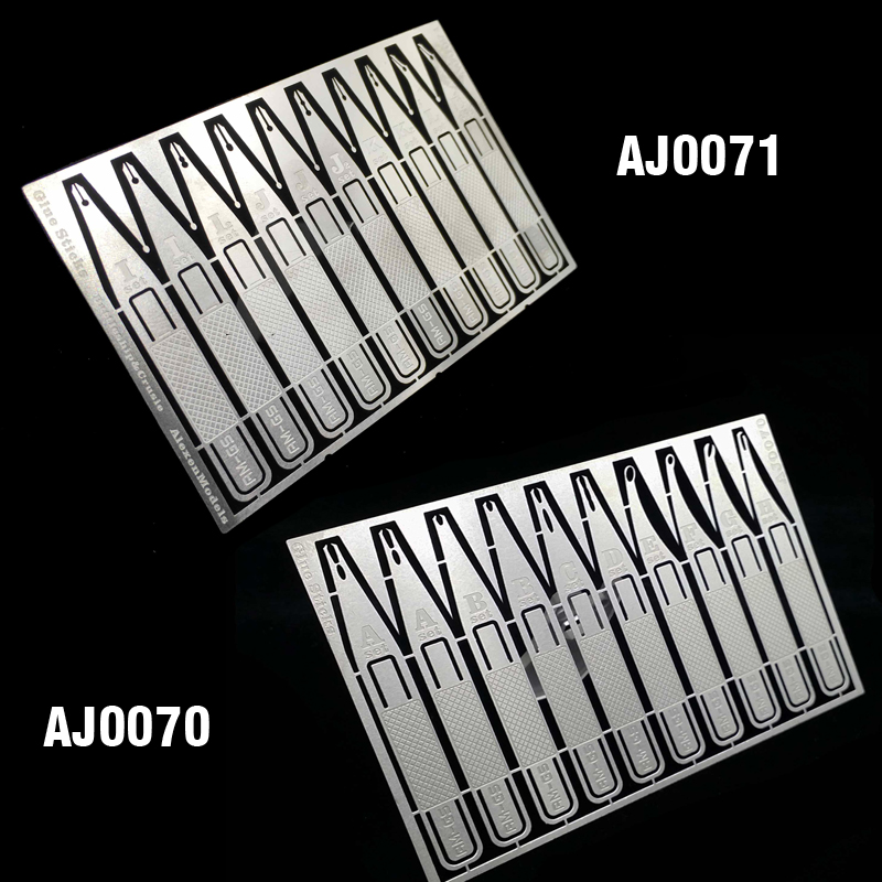 Metal Tool Modelbouw Glue Marks Modeling Sticks Precise Bonding Etching Sheet Model Hobby Essential Tools Unisex