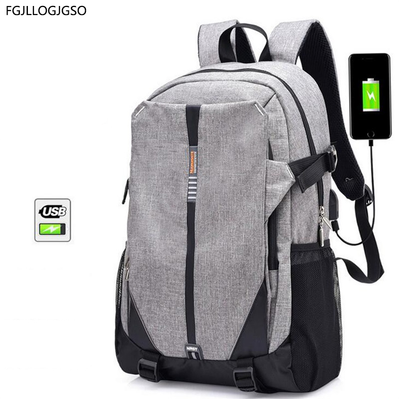 laptop backpack European fashion style new Men Large capacity backpack school bags For student traveling laptop bag USB Charge new gravity falls backpack casual backpacks teenagers school bag men women s student school bags travel shoulder bag laptop bags