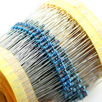 Free Shipping 2500pcs 50 Kinds 1 4W Resistance 1 Metal Film Resistor Assorted Kit New