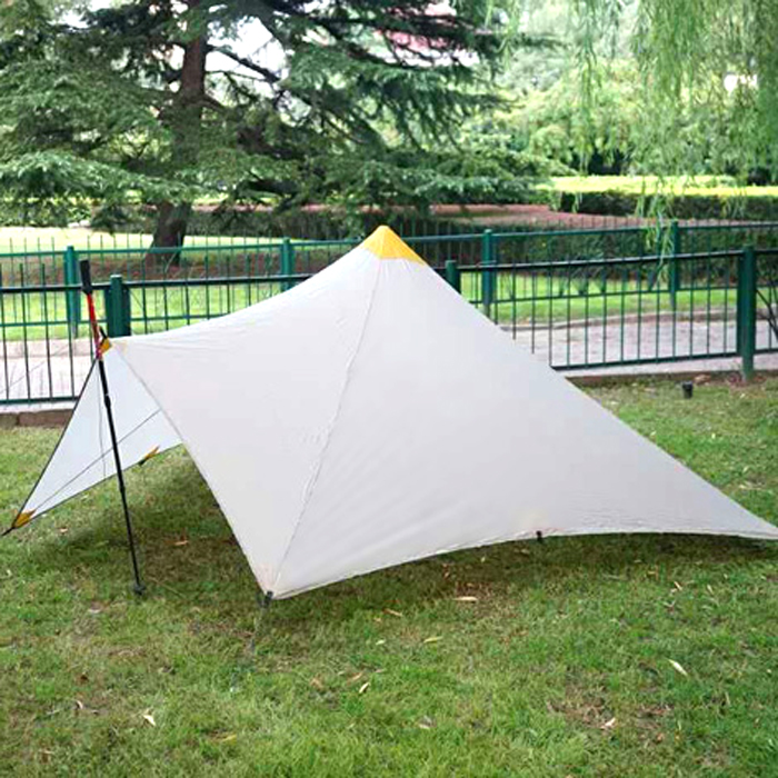 Outdoor Ultralight 1-2 Person 20D Nylon Both Sides Silicon Pyramid shelter tent for hiking camping outdoor ultralight 1 2 person 20d nylon both sides silicon pyramid shelter tent for hiking camping