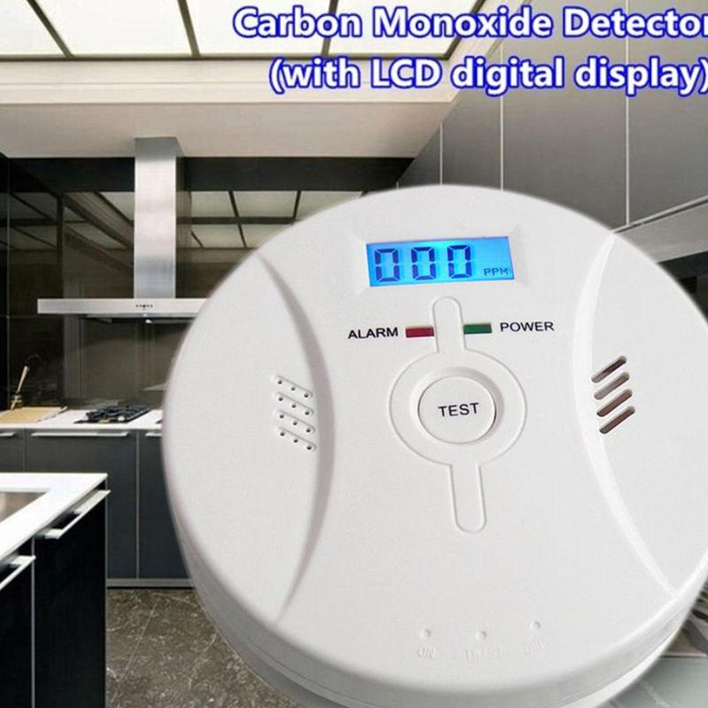 Smoke Alarm 2 In 1 Combination Carbon Monoxide + Smoke Alarm Battery Operate CO & Smoke Detector