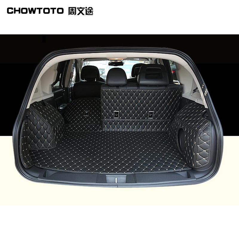 CHOWTOTO AA Special Trunk Mats For Jeep Patriot Durable Waterproof Boot Lagguge Pad Carpets For Jeep Patriot