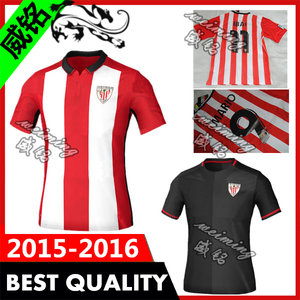 promo code dbc69 55615 US $17.8 |New Arrival Top Thai Quality 15 16 Athletic club bilbao champions  league Soccer jersey 2015 Bilbao Football Shirt Free Shiping-in Soccer ...