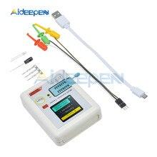 цена на T7 TC-T7-H High Precision Transistor Tester ESR Diode Triode Capacitance MOS/PNP/NPN LCR 128128 TFT LCD Screen Tester Multimeter