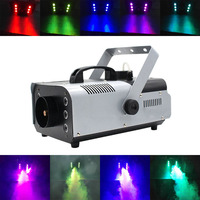 900W RGB 3IN1 Remote/Wire Control Smoke Machine pump DJ Disco Fog Machine for Party Wedding Christmas Stage Powerful Fogger