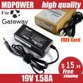 MDPOWER Для Gateway Нетбук Универсальный Ноутбук Адаптер Питания Зарядное Устройство 19 В 1.58A Шнур