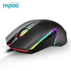 2018 New Rapoo V20PRO 8000 DPI 9 Programmable Buttons Sensor PMW3325 Optical Gaming Mouse for Professional Gamer PUBG Mouse