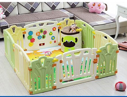 Free Shipping Baby Child Game Playpen Fence Baby Toddler Plastic