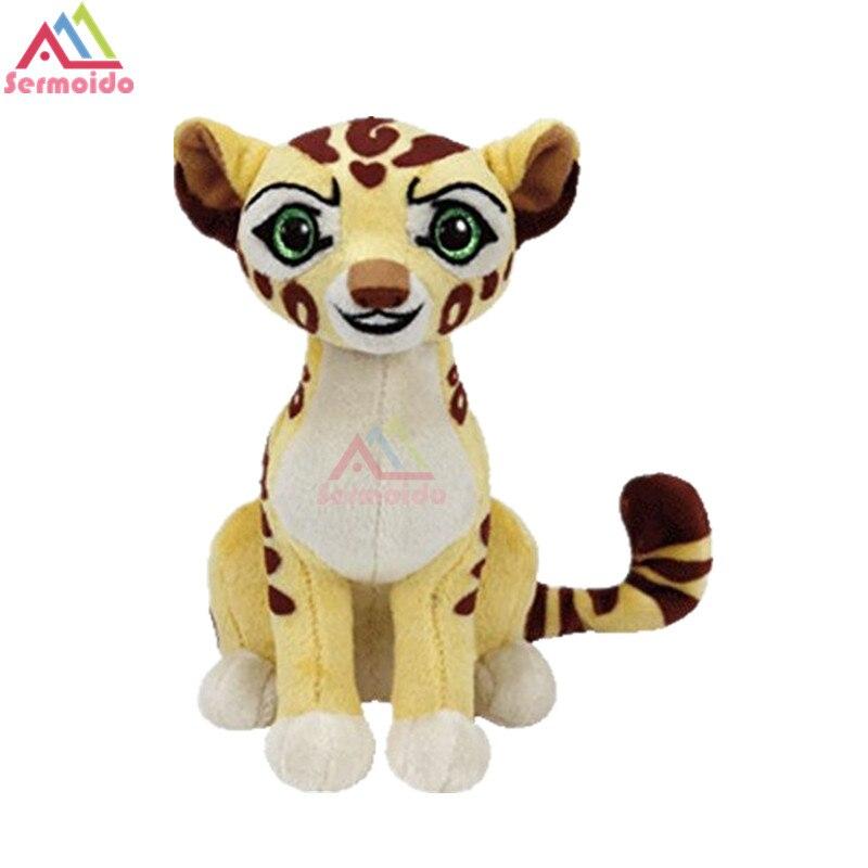 Sermoido ty 6 Beanie Боос The Lion Guard Фули Cheetah младенцев Плюшевые игрушки куклы Коллекционная Мягкая Большой Средства ухода для век плюшевые Игрушечн...