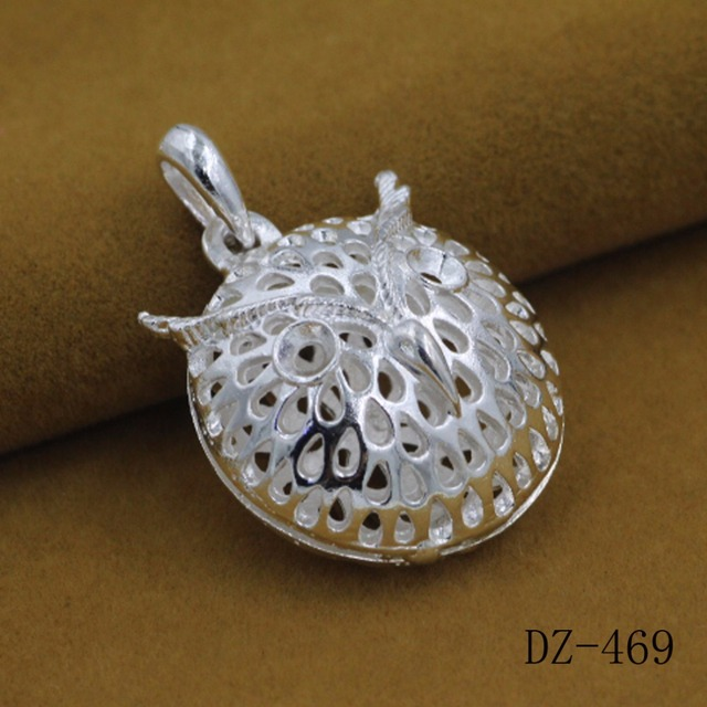 925 sterling silver pendant three dimensional hollow owl silver 925 sterling silver pendant three dimensional hollow owl silver pendant mens ambition owl pendants the mozeypictures Image collections