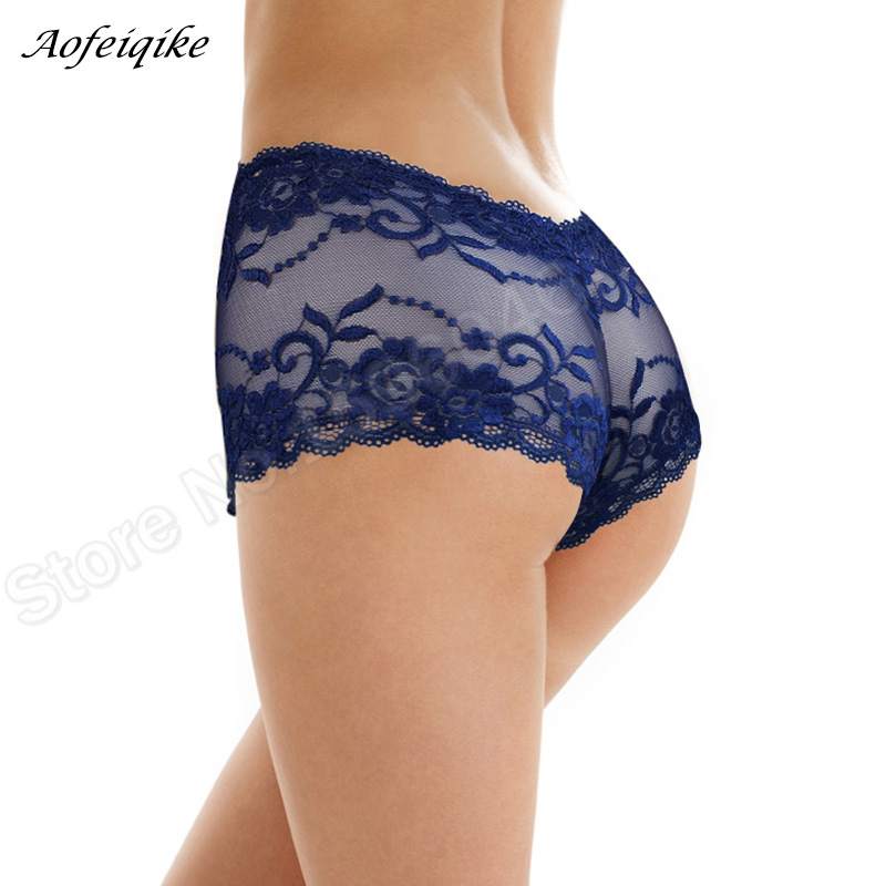 Underwear Women Cotton   Panties   Sexy Lace Hollow Briefs Seamless Bragas Intimates Plus Size Ropa Underpants #S