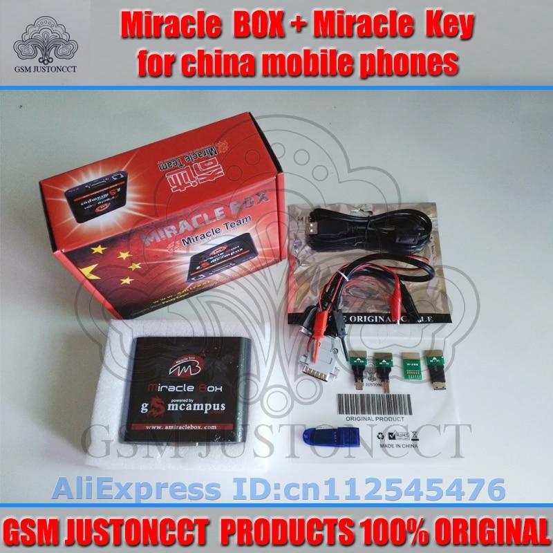 gsmjustoncct Original Miracle box + Miracle nyckel med kablar (V2.33 - Kommunikationsutrustning - Foto 3
