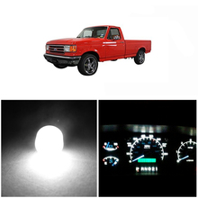 WLJH Super Bright Instrument Panel Cluster Gauge Dash Bulb Led Lights Kit Package Replacement for Ford F150 F250 F350 1982-1998