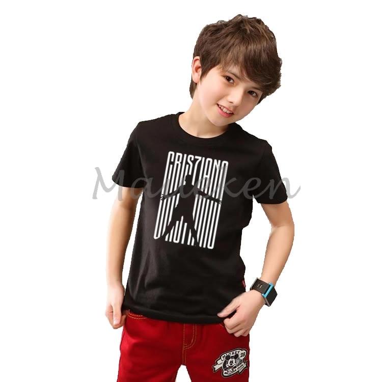 Sammlung Hier Kinder Cr7 Cristiano Ronaldo 7 Cr7 Willkommen T-shirt Kleidung T Shirt Jugend Jungen Mädchen T-shirt Oansatz T W19032801