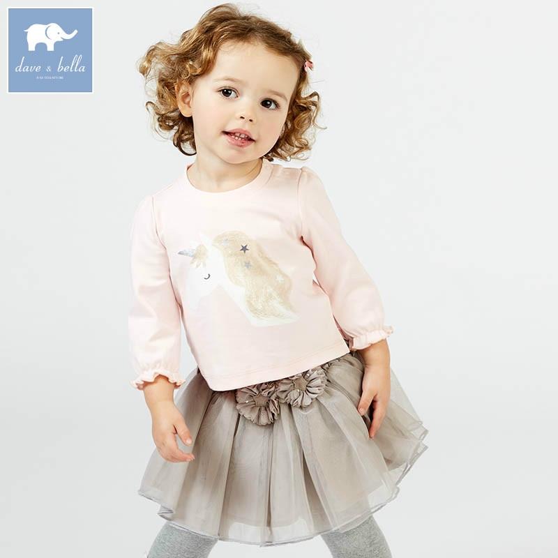 DB10159 dave bella baby navy Dress girls sleeveless spring dresses kids girls dress children birthday party
