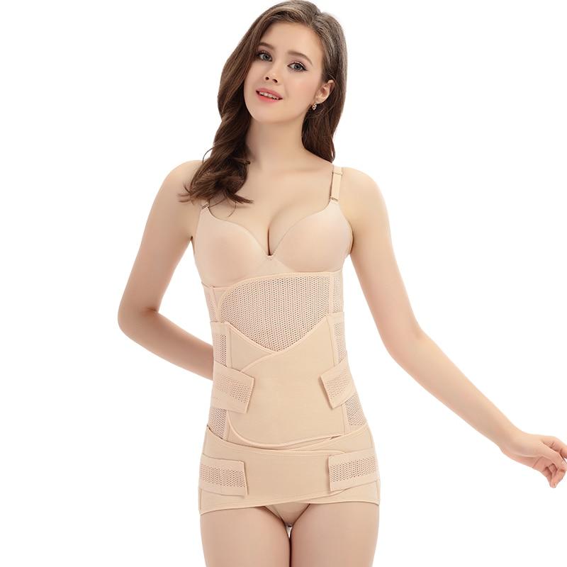 3Pcs/set Pregnancy Support Belt Pregnant Women Belt Belly Corset Postpartum Girdle Bandage After Delivery Postnatal Shaper