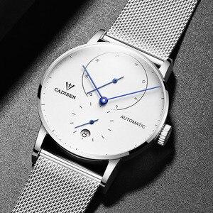 Image 4 - CADISEN TOP Mens นาฬิกาอัตโนมัตินาฬิกาผู้ชายนาฬิกาแฟชั่นกีฬานาฬิกา 5ATM กันน้ำปฏิทิน