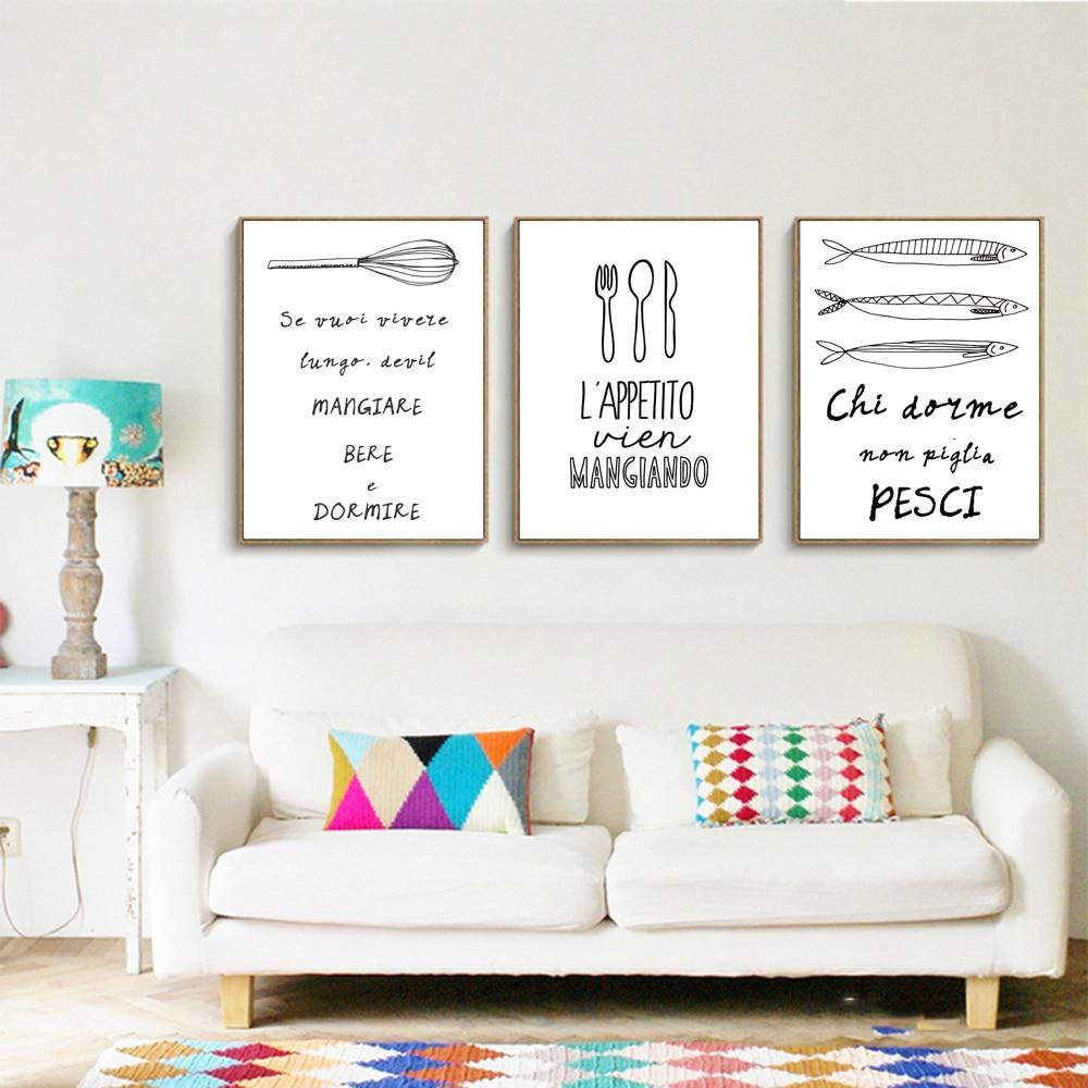 Tela Stampa Artistica Picture Muro, cucina o Sala da pranzo ...