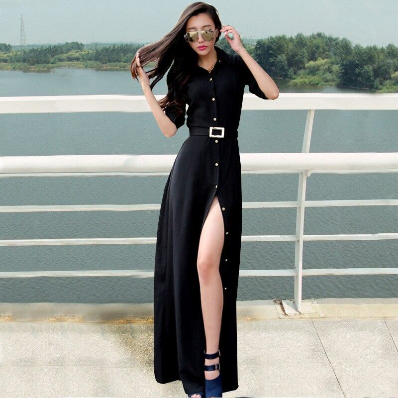 Long floor length casual dresses
