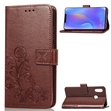 For Huawei P Smart Plus Case Lucky Leather Flip Wallet Phone Nova 3i Cover Coque Fundas