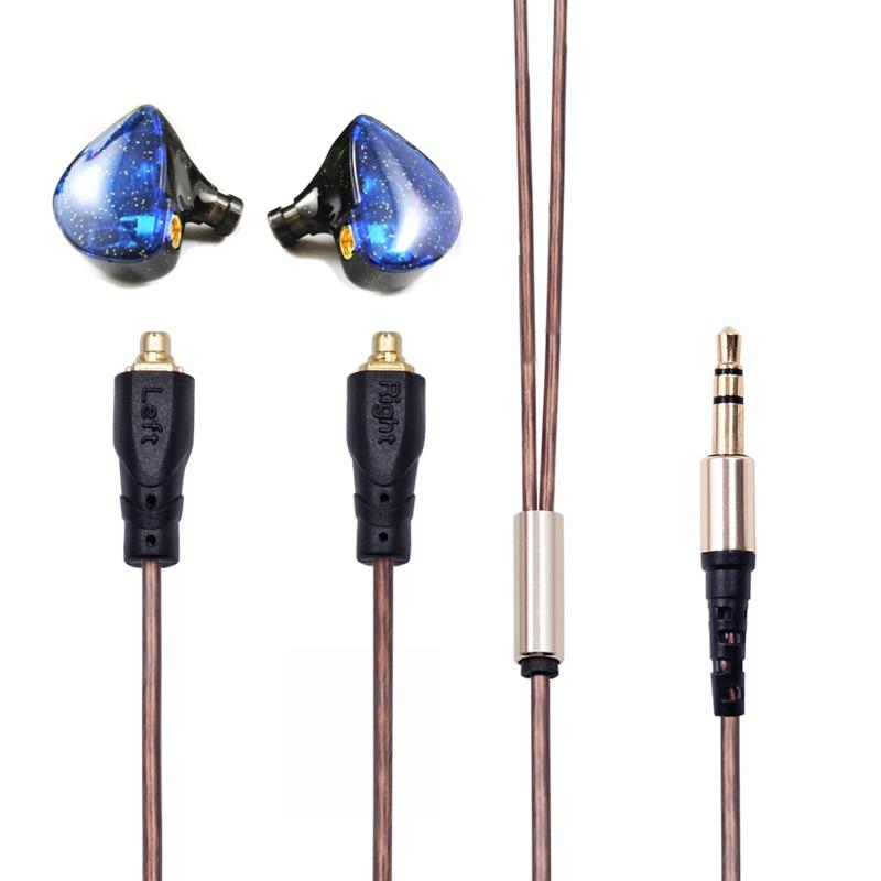 2018 PIZEN Senfer UE NEW EARPHONES in Ear Earphone HIFI Headset With MMCX cable pk zs10 zs6 zst ZSE ZSR ED9 ED2 as rock zircon