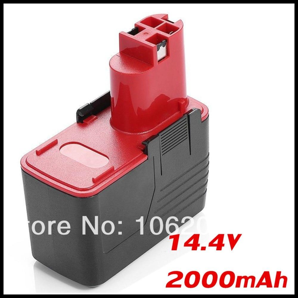 14.4V 2000mAh Replacement Battery For BOSCH 2 607 335 210 GSB 14.4 VE-2 3650K 3615K 3612 3610-K10 26156801 BH 1454 BAT 015 GSB replacement for bosch gho 14 4 v gho 14 4vh gli 14 4v 2 607 335 711 bat038 bat040 bat041 bat140 bat159 power tools battery