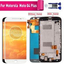 Для Motorola Moto G4 плюс XT1644 1640 Дисплей ЖК Экран Замена для Motorola G4 плюс XT1641 1625 ЖК-модуль экрана дисплея