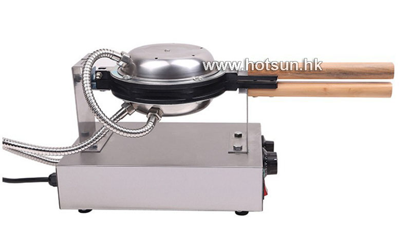 Free Shipping Commercial 110V 220V Electric Nonstick Rotated Eggettes Egg Puff Bubble Waffle Egg waffle Maker Iron Machine free shipping stainless steel electric eggettes egg waffle maker rotated 180 degrees