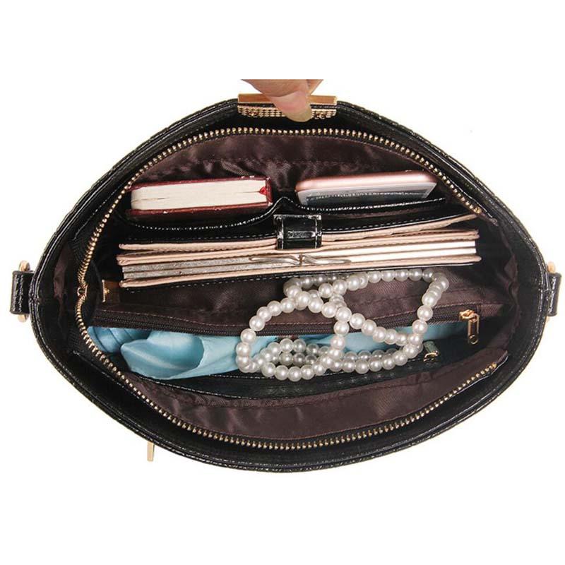 Diseñador Embrague Famosa Marca Mujeres Embrague Logo Pequeño Bolso - Bolsos - foto 6