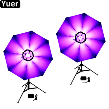 2Pcs/Lot Stage Effect Lighting 20inch LED 114Pcs 0.2W RGB 3IN1 Magic Blumen Light DMX512 DJ Disco Party Music Nightclub